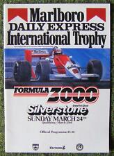 SILVERSTONE DAILY EXPRESS MARLBORO INTERNATIONAL TROPHY PROGRAMME 24 MAR 1985