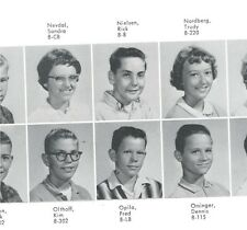 Rick Nielsen Cheap Trick 1963 8th Grade Junior High School Yearbook Rockford IL
