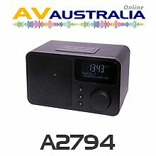AVA DB-230 DAB+ FM Digital Radio Alarm Clock