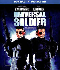 Universal Soldier NEW Bluray disc/case/cover only-no digital Van Damme Dolph
