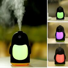 New Portable Mini USB Humidifier Air Purifier Aroma Diffuser LED Office Home