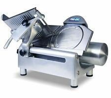 "NEW HEAVY DUTY 12"" COMMERCIAL GEAR DRIVEN MEAT AND CHEESE SLICER"