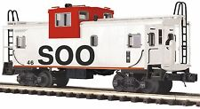 20-91563  MTH/Premier Extended Vision Caboose - SOO Line  NIB