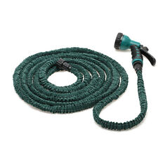 Delux 50 Feet  Expandable Flexible Garden Water Hose Spray Nozzle Garden Pouring