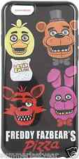 FIVE NIGHTS AT FREDDY'S PHONE CASE ~FOR IPHONE 6~ WITH CHICA FREDDY FOXY BONNIE