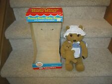 1981 Fisher Price Mama Bear Baby Bear 248 with original box Dressable Huggable