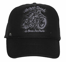 La Marca Del Diablo [Savage Speed] Trucker Cap berretto baseball Rockabilly RACING