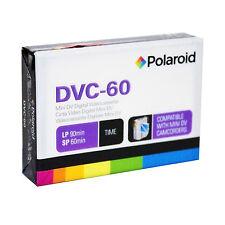 Blank Mini DV-60 Polaroid Digital Video Tape(90min.LP Mode)in 50 Lot(V2-MDV060P)