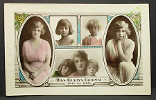 Miss Gladys Cooper Joan John - Movie Photo - Film-Foto Autogramm-AK (Lot-j-973