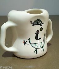 RARE EVA ZEISEL, WEE MODERN SIPPY CUP GOSS CHINA, Sale for short amount of time!