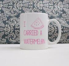 I Carried a Watermelon Quote Ceramic Coffee Mug gift Cup Dirty Dancing movie