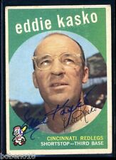 Eddie Kasko signed autographed AUTO 1959 Topps card #232