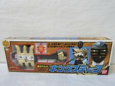 Power Rangers Zeo OHRANGER KING STICK BANDAI Rare!