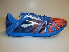 Brooks Size 12 M THE WIRE 3 Blue Track and Field Running Sneakers New Mens Shoes
