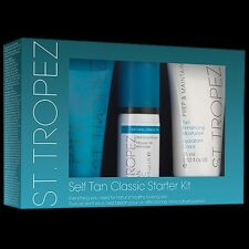 ST TROPEZ Self Tan Starter Gift Set Body Polish Moisturiser Bronzing Mousse A122