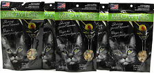5 Meowtinis Soft & Moist Cat Treats White Fish Formula With Olive Flavored Bits