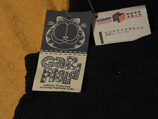 Garfield - 1978 Blue Corduroy Pants w/ Tags) N.O.S.) Patches-Buttons) Vtg. Kids)