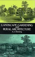 Landscape Gardening and Rural Architecture-ExLibrary