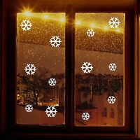 Christmas Decoration SNOWFLAKE Window Stickers
