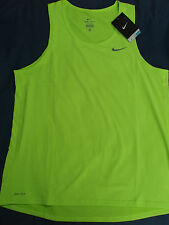 NEW Nike dri-fit contour miler running tank top singlet men's small/medium M