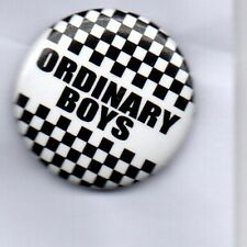 THE ORDINARY BOYS BUTTON BADGE - English Indie Rock Band -  25mm Pin