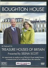 BOUGHTON HOUSE DVD TREASURE HOUSES OF BRITAIN PRESENTED BY SELINA SCOTT