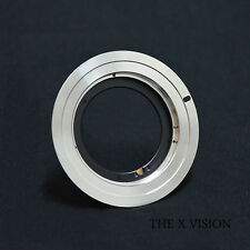 Rollei Distagon QBM lens to Canon Eos EF adapter for 60D 50D 600D focus infinity