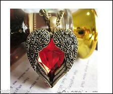 Angel Wings Heart Unusual Gift Trendy Kitsch Gothic Valentines day Gift for Her