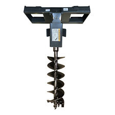"Skid Steer Auger and Quick Attach Frame, 12"" Bit Included, Free Shipping in USA!"