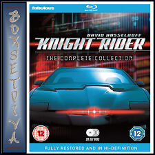 KNIGHT RIDER - THE COMPLETE COLLECTION - SEASONS 1 2 3 & 4  **BRAND NEW BLURAY**