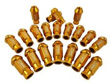 D1 Racing GOLD Long Wheel Lug Nuts M12 x 1.5mm NISSAN SUBARU SUZUKI etc