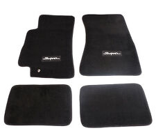 NRG Floor Carpet/Mats Black Factory Fit Toyota Supra 96-up