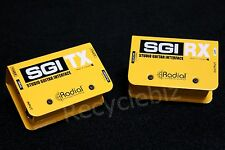 NEW! Radial SGI Studio Guitar/Bass Interface System Line Driver *Up To 300 FT!*