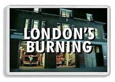 LONDONS BURNING CLASSIC TV SHOW AND DVD FRIDGE MAGNET *GREAT GIFT* UK SELLER