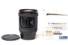 Tokina AF SD 35-300mm F4.5-6.7 Minolta AF + Sony A700