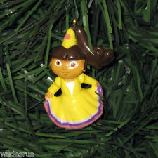 Dora the Explorer Party Dress Custom Christmas Tree Ornament Decoration Holiday
