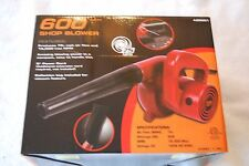 600W Watt Electric Hand Held Blower / Vacuum for Shop or Garden Blow Dust Clean