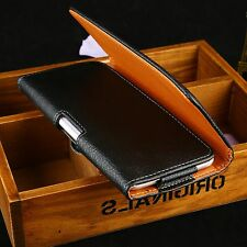 NEW Flip PU Leather Case Cover Waist Clip Skin Pouch Bag for iPhone 6 Plus 5.5""