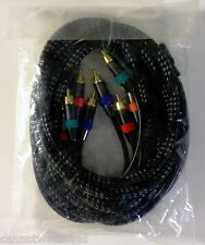Component Video / Coaxial Digital Audio 9' Cable NXG Black Pearl Series NXBP6153