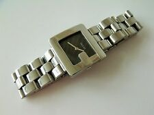 Ladies Stainless Steel Square G Gucci Quartz Wrist Watch Ref: 3600 J