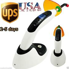 In US!!!10W Wireless Cordless LED Dental Curing Light Lamp 2000MW Whitening BEST