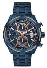 Guess W0522G3 , Full Blue stylish  Executive Style Chronograph Watch for Men