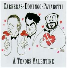 A Tenors Valentine Luciano Pavarotti, Placido Domingo, Jose Carreras Audio CD