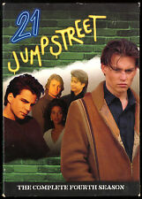 21 JUMPSTREET SEASON 4 COMPLETE 6 DISC DVD SET JOHNNY DEPP Sal Jenco FRE SHIP US