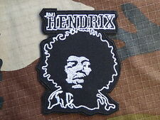 ECUSSON PATCH THERMOCOLLANT toppa aufnaher JIMMY HENDRIX musique rock hard biker