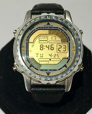 Pulsar W810-6020 two toned, stainless steel date quartz watch