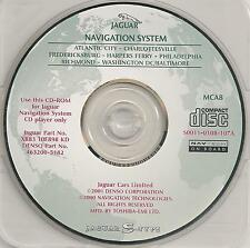 2000 to 2002 Jaguar S-Type Navigation CD Map #8 Read discription for cover area