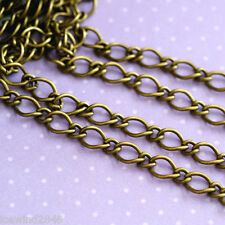 Lead Free 5 Feet Antique Bronze Mother-Son Chains CHSM021Y-AB