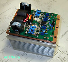 HF power amplifier SSB CW 1000W MOSFET VRF2933 copper and heat sink