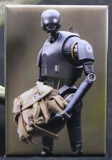 "K-2SO Rogue One 2"" X 3"" Fridge / Locker Magnet. Star Wars Toy Photography"